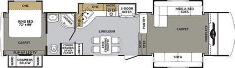 cardinal fifth wheel floor plans cardinal fifth wheel by forest river
