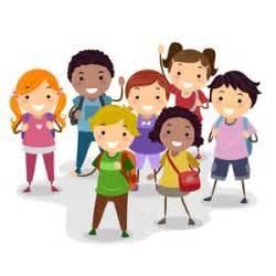 schoolchildren group vector freevectors net