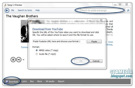 songr mobile stamedia feature အသစ မ င free mp3 downloader songr 2 0