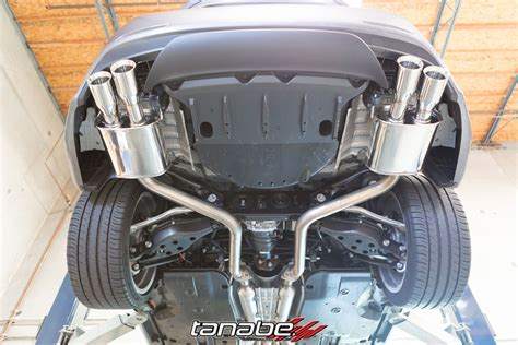 new tanabe medalion touring exhaust for 2015 lexus rc350