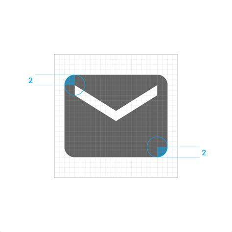 material design icon dimensions icons style material design