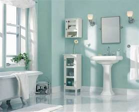 Best Paint For Bathrooms by Best Paint Color For Bathroom Using Light Blue Wall Paint