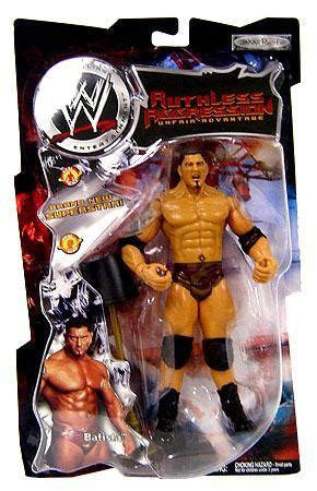 wwe wrestling ruthless aggression series  batista action figure jakks pacific toywiz