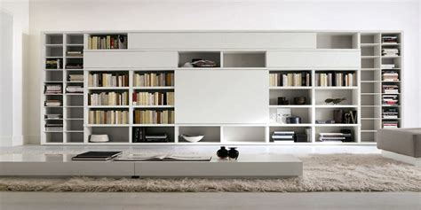librerie da salotto la cultura in soggiorno arredare con le librerie d