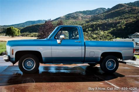 Best Interior Paint Color To Sell Your Home by 1980 Chevy Truck Custom C10 Short Bed Frame Up New 350