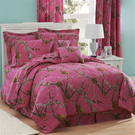 Pink Camo Bed Set by Realtree Ap Pink Camo Comforter Set Bed In Bag With