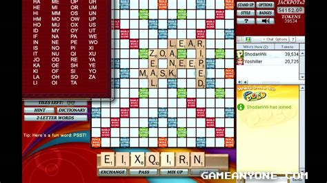 play free pogo scrabble scrabble pogo co op with yoshiller 3