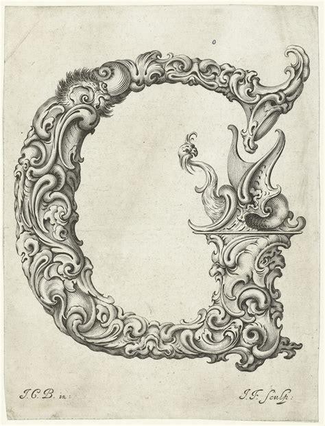 the letter b all sizes letter g jan chrystian bierpfaff 1656