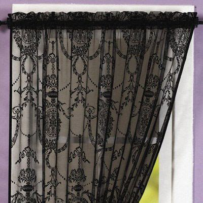 black lace curtains cheap 17 best images about front room mood board on pinterest