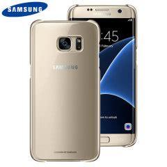 Original Samsung Clear Galaxy S7 Edge Gold Original 1 samsung galaxy s7 edge h 252 llen mobilefun de