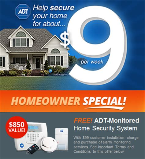 security systems specials adt security 1 877 654 3087