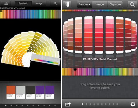 Adressaufkleber App by Pantone Mobil Apps F 252 R Die Konvertierung In Vierfarbs 228 Tze