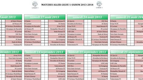 Foot Calendrier Calendrier Rencontre Foot