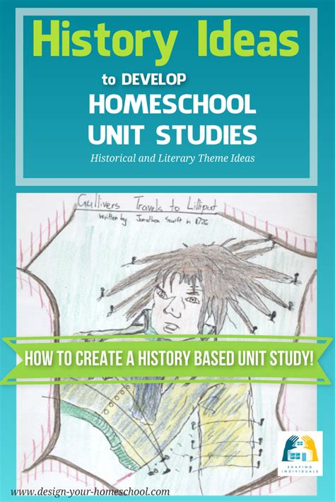 Self Design Homeschool Homeschooling Unit Studies Design Your Homeschool Unit