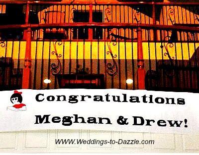 Unique Wedding Banner by Unique Wedding Ideas