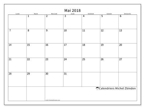 Calendrier 2018 2 Mois Par Page Calendrier A Imprimer Mois De Mai 2018