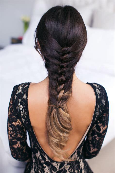 braided hairstyles luxy faux knot braid luxy hair