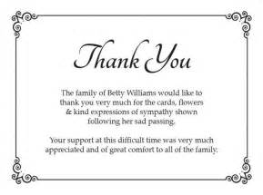 the 25 best ideas about funeral thank you cards on funeral thank you notes