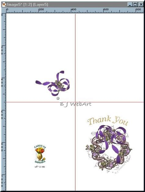 Thank You Card Template Word Half Fold by Avery Template 3265 Microsoft Word