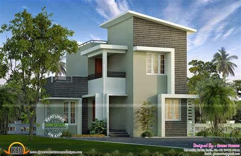 home design by small plot storied house kerala home design and floor plans
