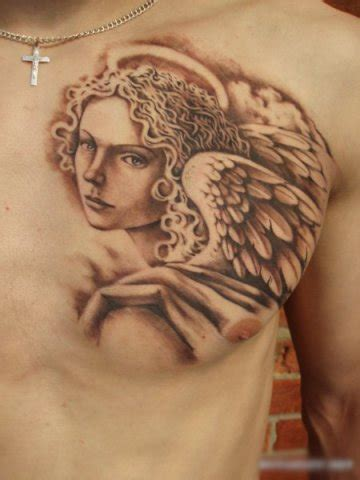 angel tattoo on the chest tattoos for girls tattoos for men on chest quotes