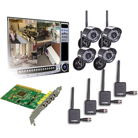 lorex pc digital wireless component surveillance system