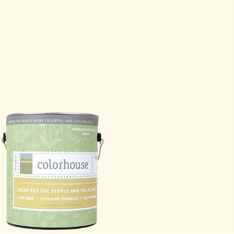 home depot yolo colorhouse paint colorhouse 1 gal air 01 semi gloss interior paint 463110