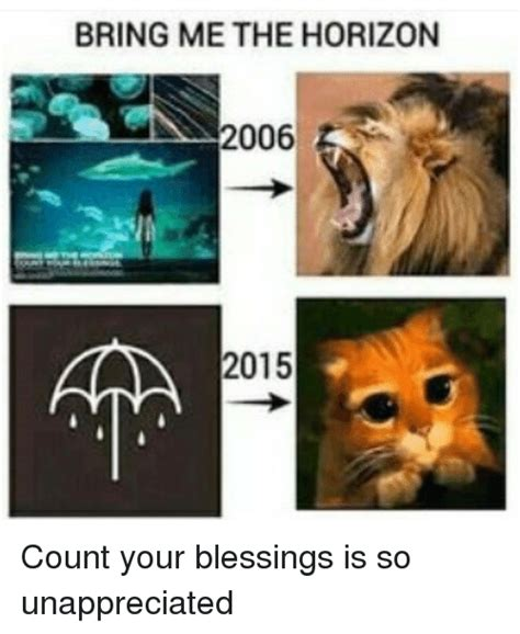 Bring Me The Horizon Meme - bring me the horizon 2006 aaa 2015 count your blessings is