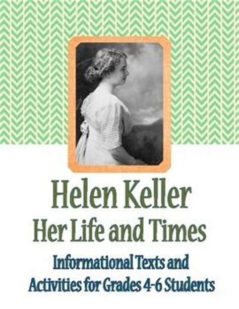 helen keller biography activities activities texts and helen keller on pinterest