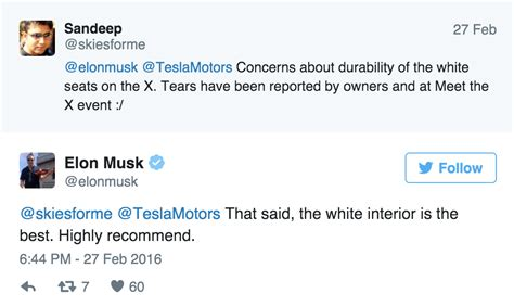 elon musk on twitter elon musk tweets about his configuration option