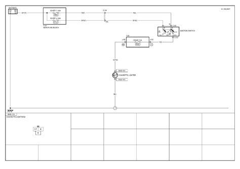 repair guides cigarette cigar lighter  cigarette lighter wiring diagram autozonecom