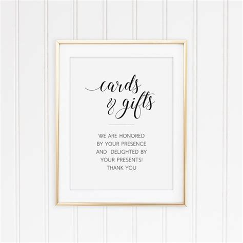 Gift Card Log - cards and gifts sign wedding gift table sign wedding card