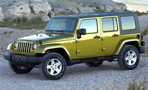 2007 4 Door Jeep Wrangler car and driver