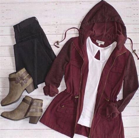 Parka Hoodie Maroon Termurah jacket fall fashion burgundy jacket maroon hoodie hoodie maroon