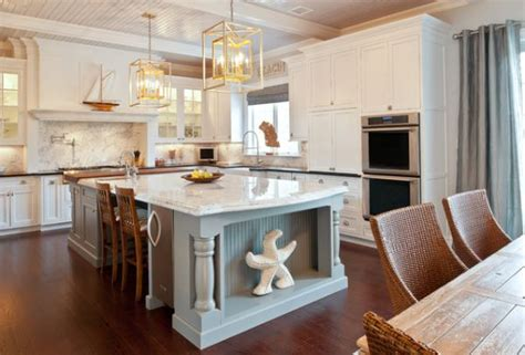 country kitchens with islands 30 kitchen islands with tables a simple but clever combo