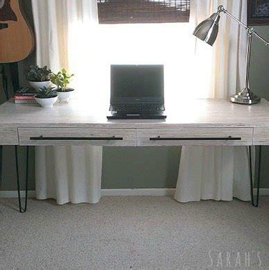 diy plywood desk sawdust girl