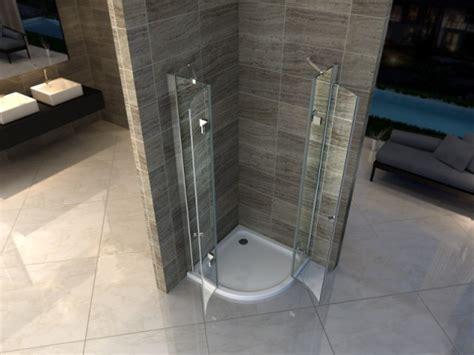 box doccia acrilico piatto doccia acrilico semicircolare