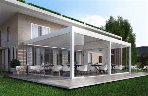 tettoia addossata tettoie linea bioclimatica per uso esterno by fepa infissi