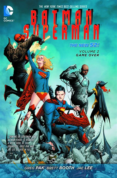 supermantp vol 1 feb150252 batman superman tp vol 02 game over previews world