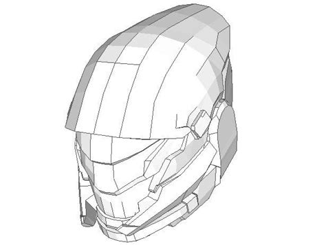 Papercraft Helmet Template - 244 best images about papercraft on