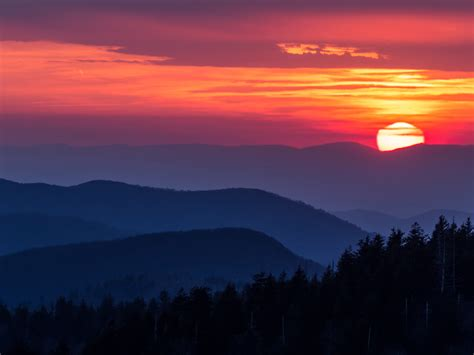 7 most stunning sunset hikes around knoxville