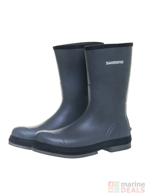 fishing boat rubber boots buy shimano evair rubber boat gumboots online at marine