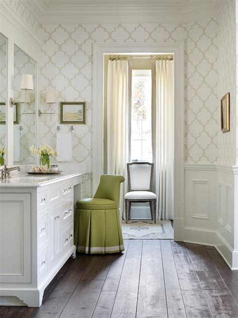 bathroom with dressing room ideas dressing room with green vanity stool transitional