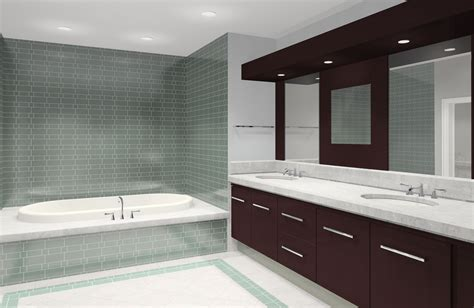 Modern Bathroom Tub Tile Small Space Modern Bathroom Tile Design Ideas Cool