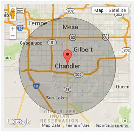 chandler arizona united states map chion portable toilets in chandler az call 888 263 8822