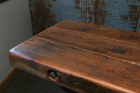 steunk industrial table barn wood console 1052 sold