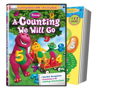Go Go Counting Book 1 lionsgate to release new barney dvd in mid september the book