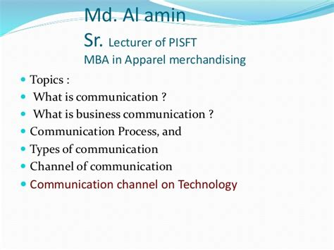 Business Communication Topics For Mba by What Is Communication