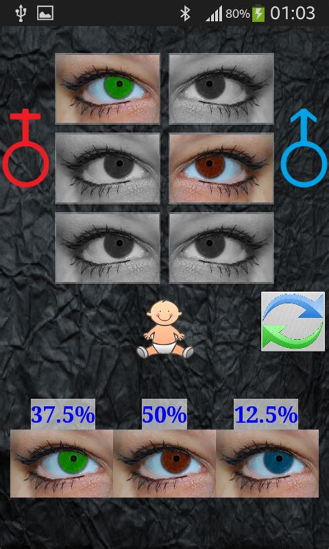baby eye color predictor baby eye color predictor android apps on play