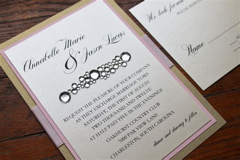 Wedding Invitations Ideas Diy by Do It Yourself Wedding Invitations Ideas